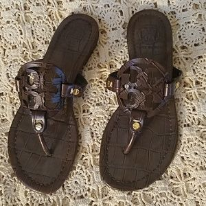 1 DAY SALE ONLY, AUTHENTIC TORY BURCH SANDLES